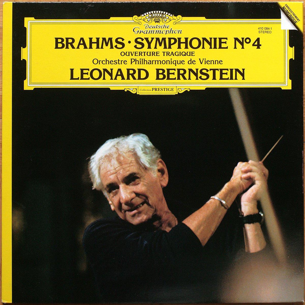 DGG 410 084 Brahms Symphonie 4 Bernstein DGG Digital Aufnahme