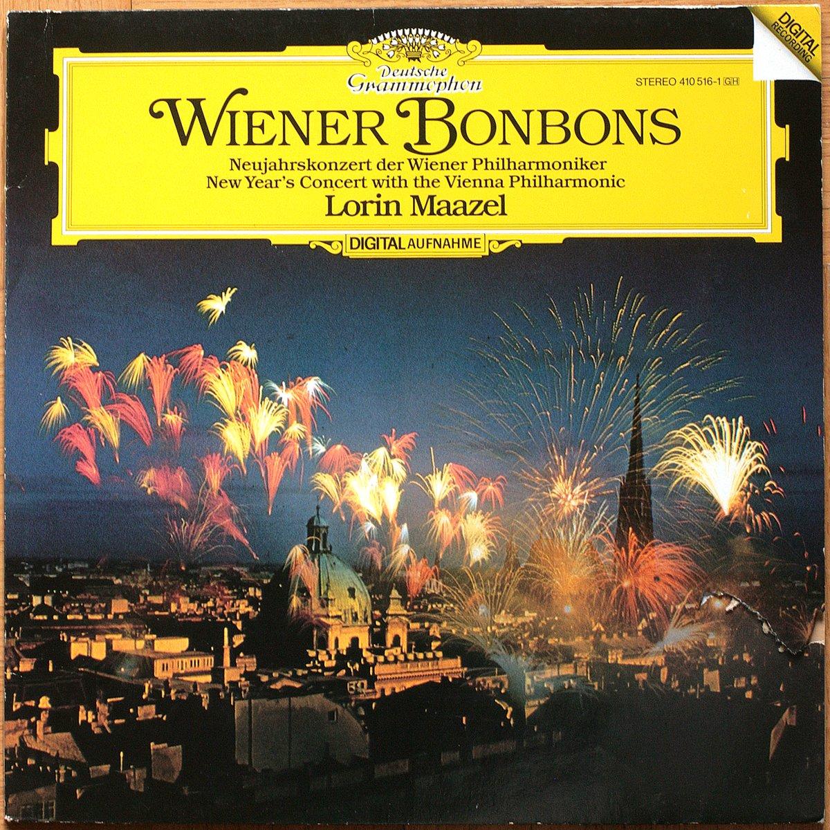 DGG 410 516 Strauss Wiener Bonbons Nouvel An 1983 Maazel DGG Digital Aufnahme
