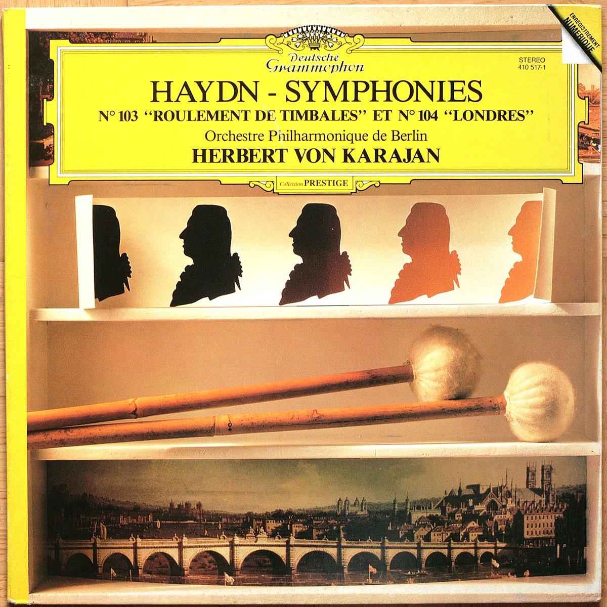 DGG 410 517 Haydn Symphonies 103 & 104 Karajan DGG Digital Aufnahme