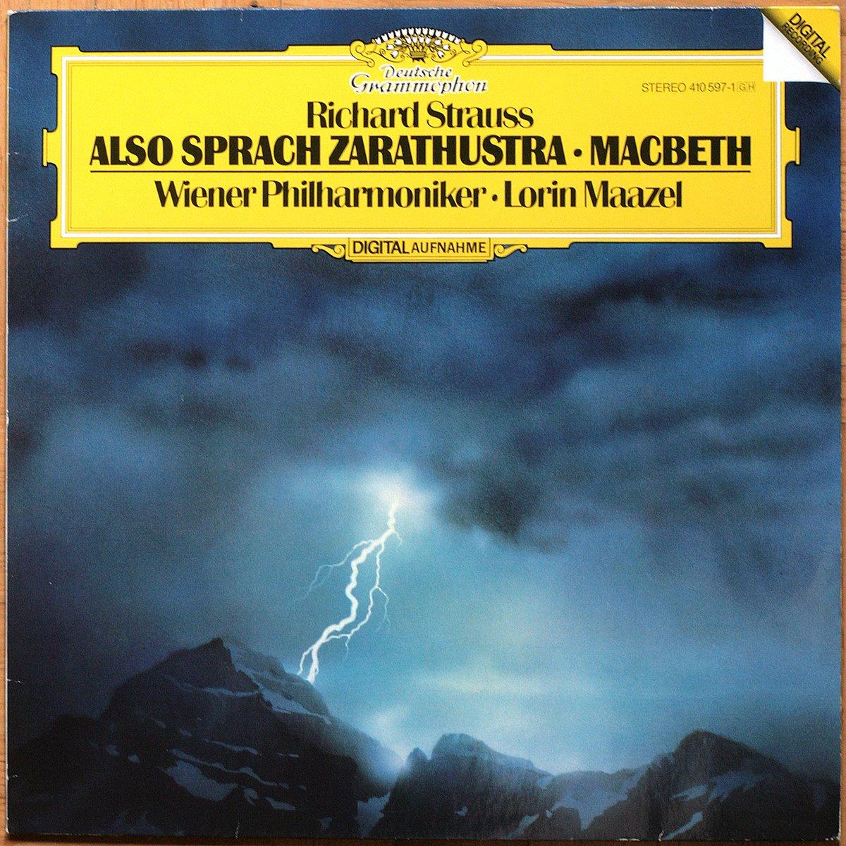 DGG 410 597 Strauss Also Sprach Zarathustra Maazel DGG Digital Aufnahme