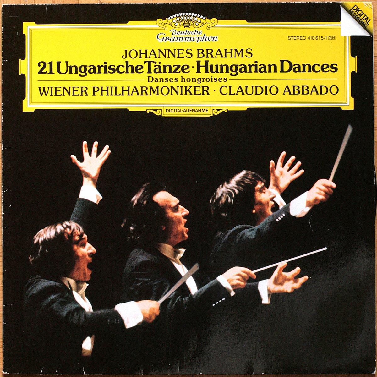 DGG 410 615 Ungarische Tanze Abbado DGG Digital Aufnahme