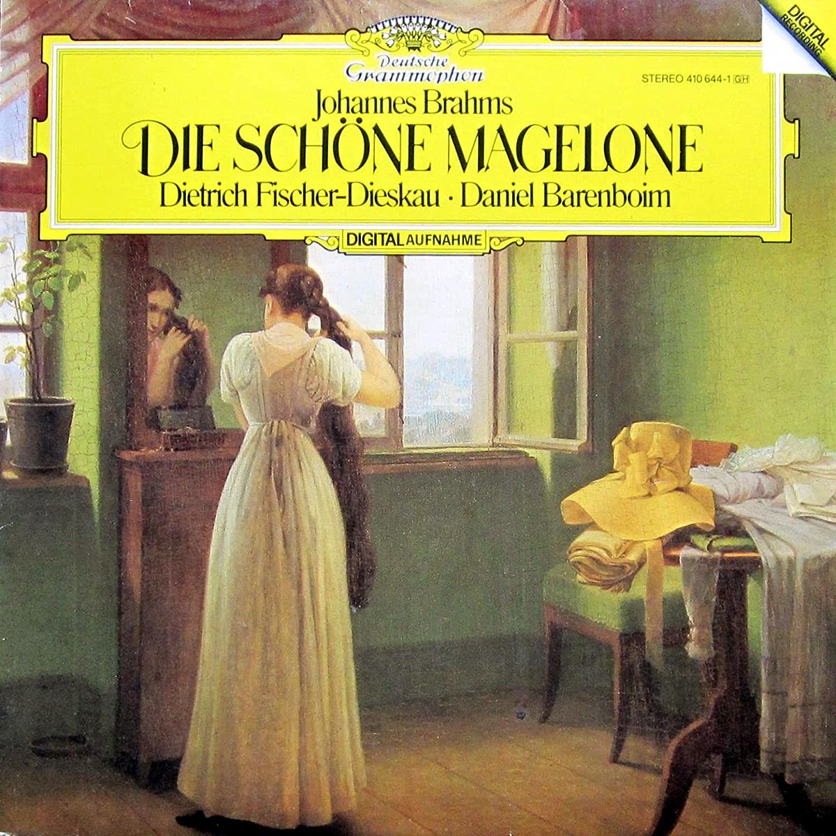 DGG 410 644 Brahms Die Shone Magelone Fischer Dieskau Barenboim DGG Digital Aufnahme