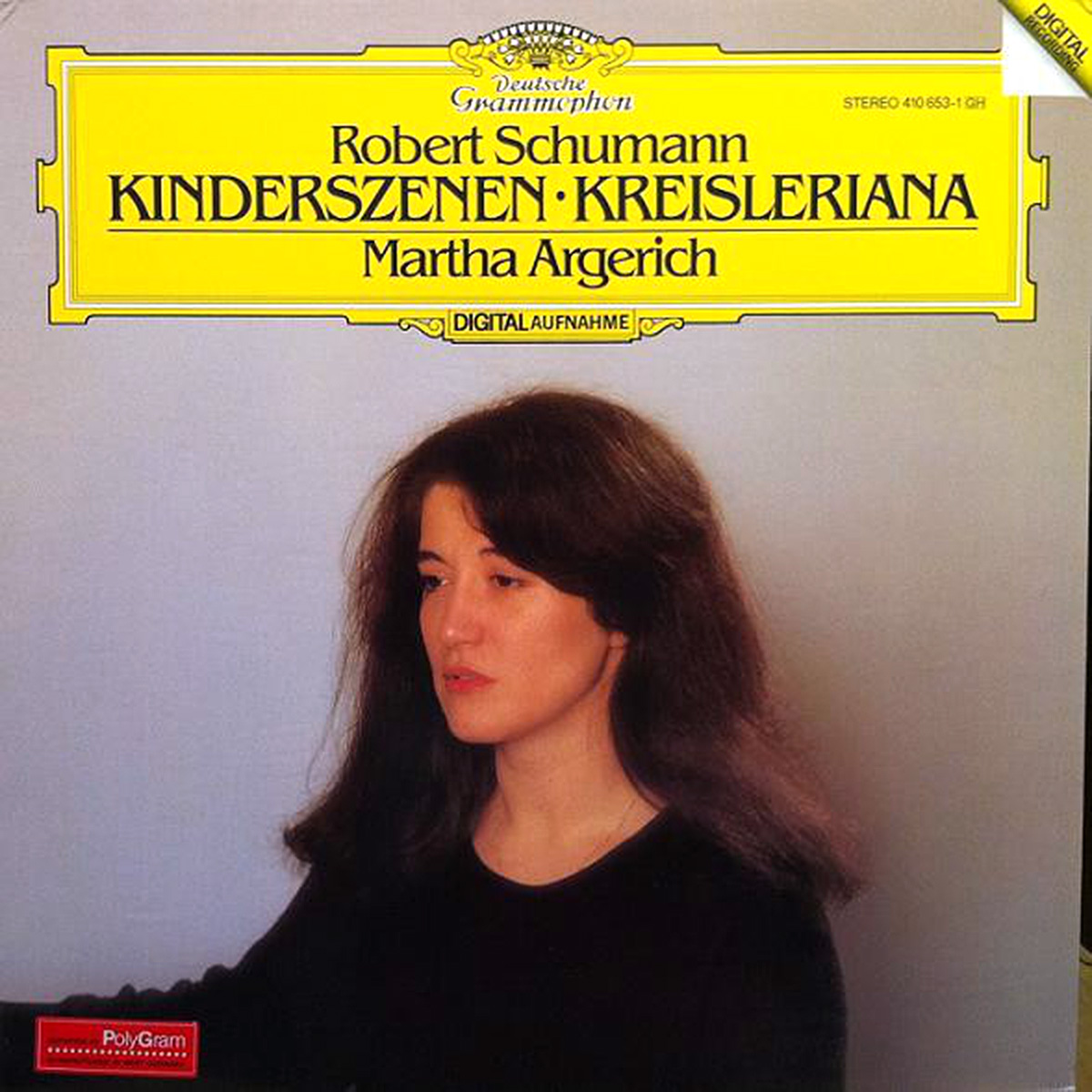 DGG 410 653 Schumann Kinderszenen Kreisleriana Argerich DGG Digital Aufnahme