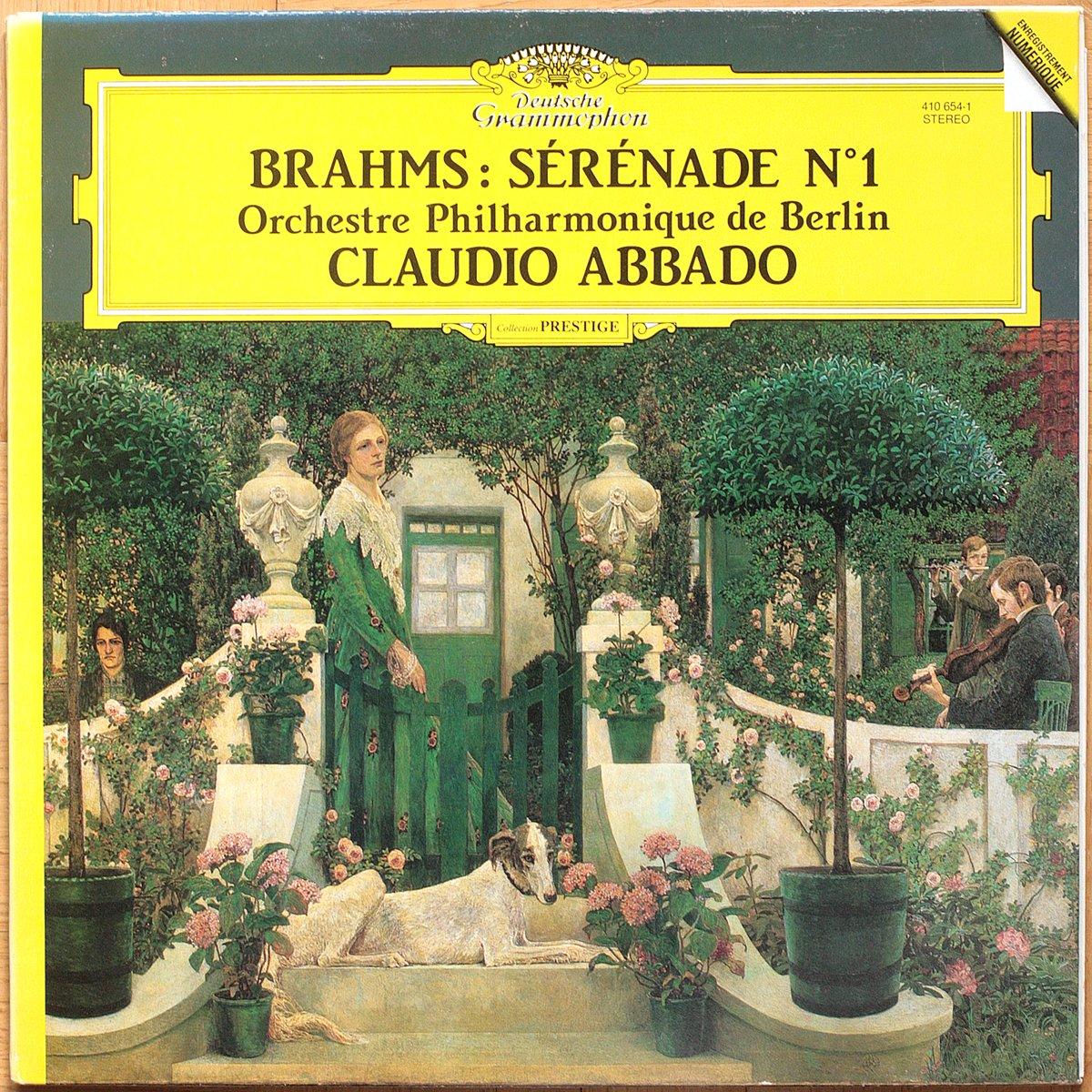 DGG 410 654 Brahms Serenade 1 Abbado DGG Digital Aufnahme