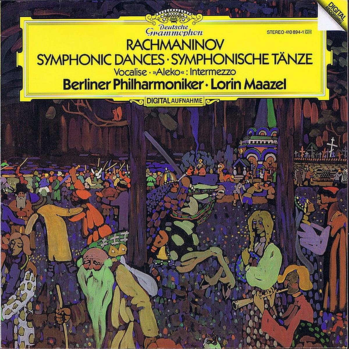 DGG 410 894 Rachmaninov Symphonic Dances VocaliseMaazel DGG Digital Aufnahme
