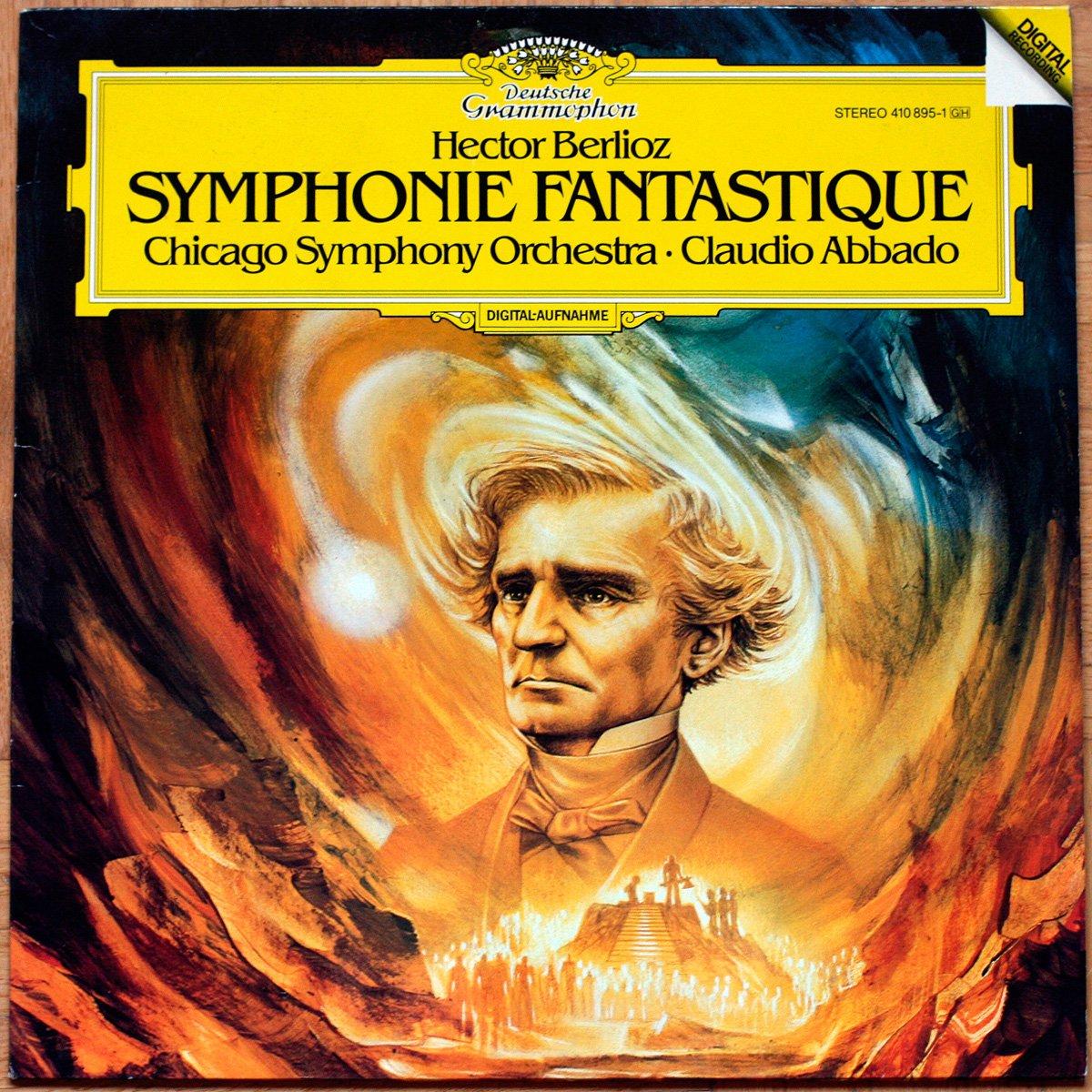 DGG 410 895 Berlioz Symphonie Fantastique Abbado DGG Digital Aufnahme