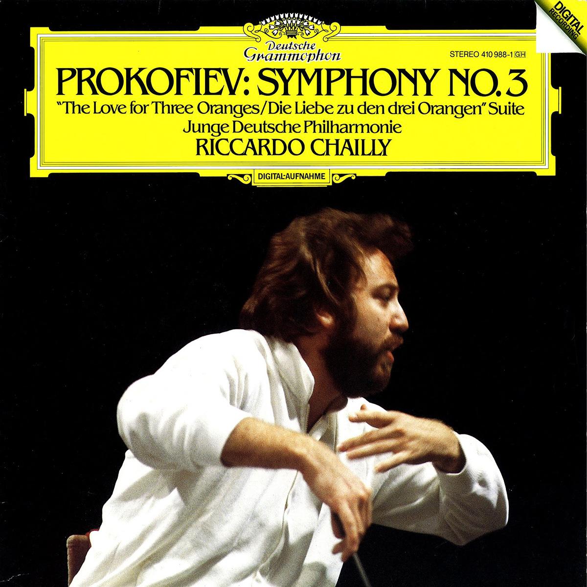 DGG 410 988 Prokofiev Symphonie 3 Chailly DGG Digital Aufnahme