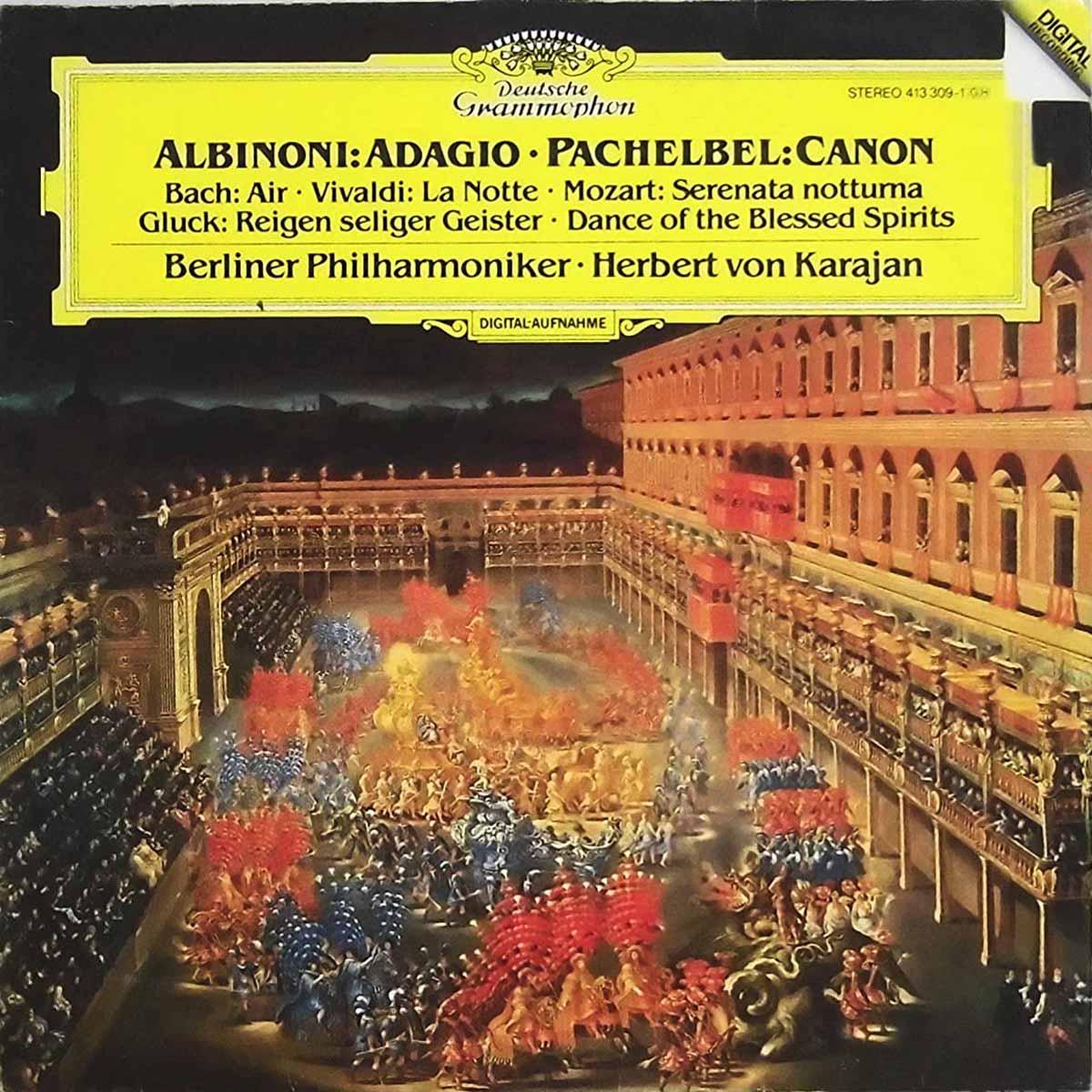 DGG 413 309 Albinoni Adagio_Pachelbel Canon Karajan DGG Digital Aufnahme