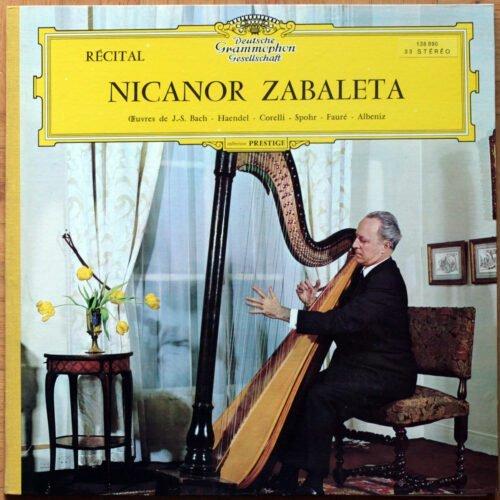 Albeniz Bach Corelli Harpe Zabaleta