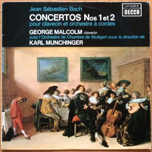 Bach Concertos 1 & 2 Malcolm Munchinger