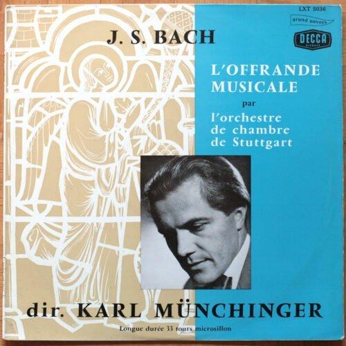 Bach Das Musikalische Opfer Munchinger
