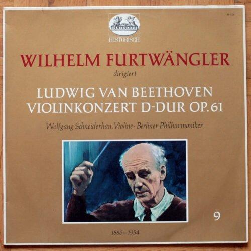 Beethoven Schneiderhan Furtxangler