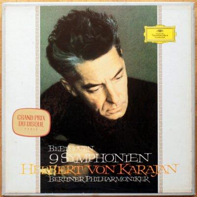 Beethoven Integrale Symphonies Janowitz Karajan