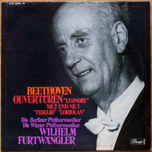 Beethoven Ouvertures Furtwangler