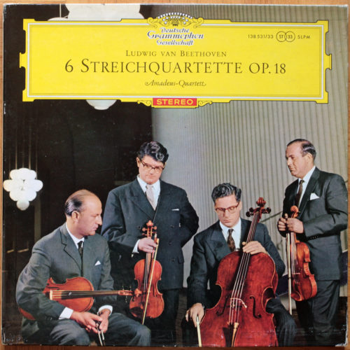 Beethoven 6 Quatuors Op 18 Amadeus
