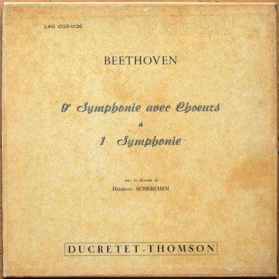 Beethoven Symphonie 1 9 Scherchen