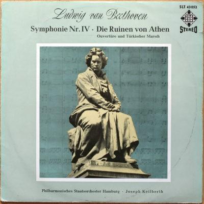 Beethoven Symphonie 4 Ruines Athenes Keilberth Telefunken Black/Gold