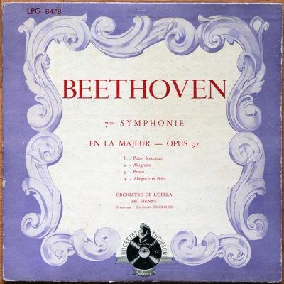 Beethoven Symphonie 7 Scherchen