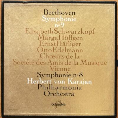 Beethoven Symphonie 8 &9 Karajan FCX 448