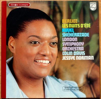Berlioz Nuits D'été Ravel Sheherazade Norman Davis