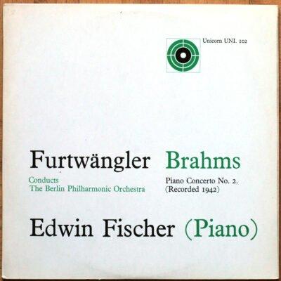 Brahms Concerto Piano 2 Fischer Furtwangler