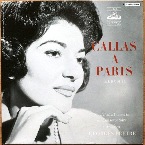 Callas A Paris Vol 2 Pretre
