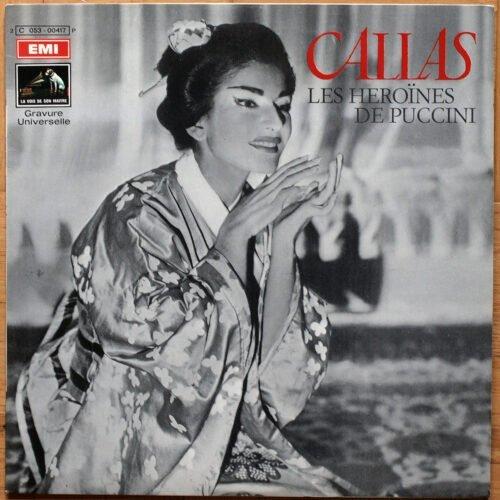 Callas Heroines Puccini Serafin