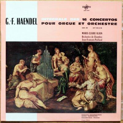 Handel Concerto orgue Alain Paillard