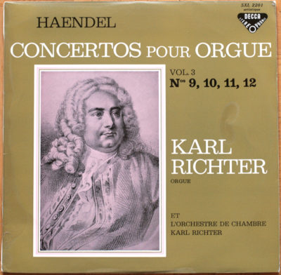 Handel Concertos Orgue Richter Vol 03