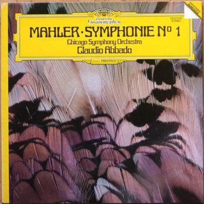 Mahler Symphonie 1 Titan Abbado DGG Digital Aufnahme