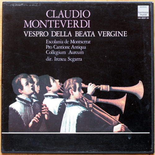 Monteverdi Vespro Segarra