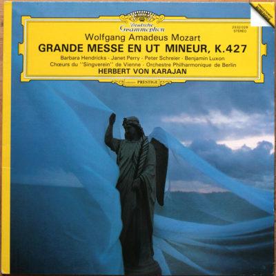 Mozart Grande Messe Ut Karajan DGG Digital Aufnahme