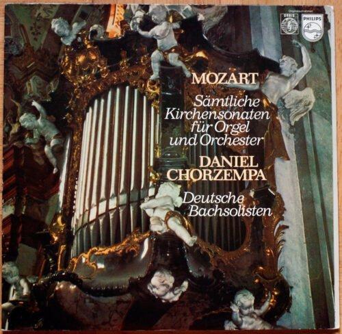 Mozart Sontes Eglise Orgue Chorzempa