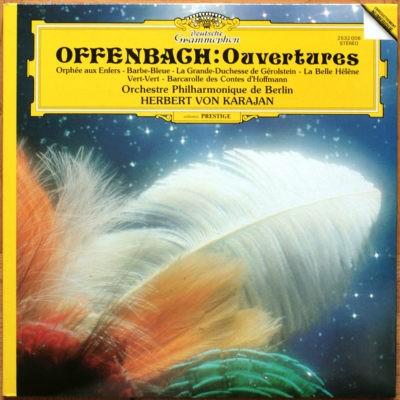 DGG Digital Offenbach Ouvertures Karajan Digital Aufnahme