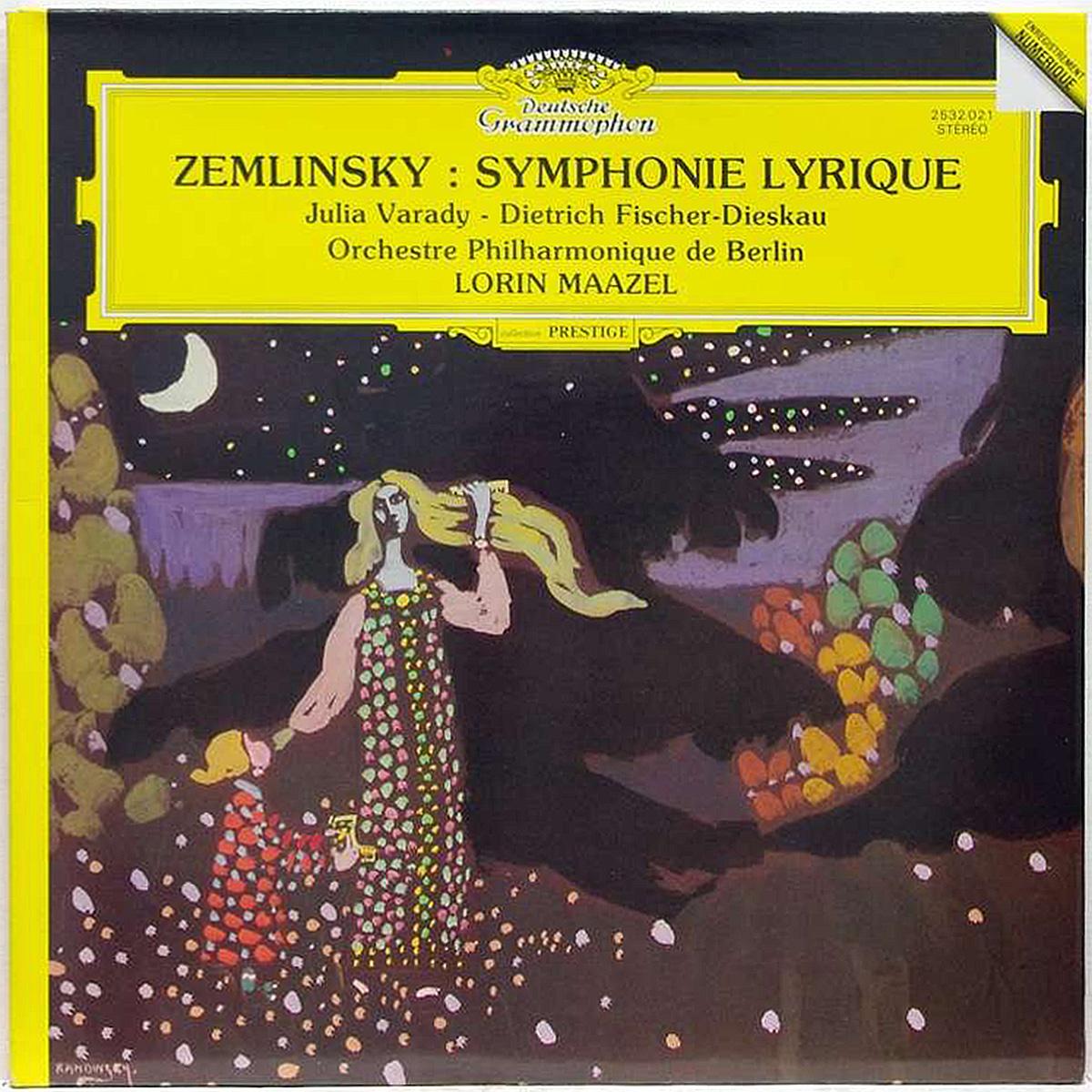 DGG 2532 021 Zemlinsky Symphonie Lyrique Maazel DGG Digital Aufnahme