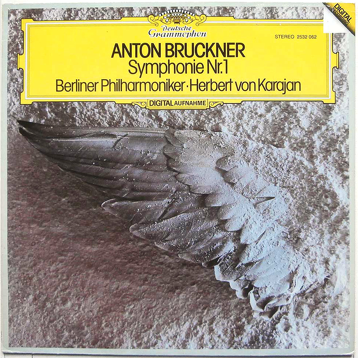 DGG 2532062_Bruckner Symphonie 1 Karajan DGG Digital Aufnahme