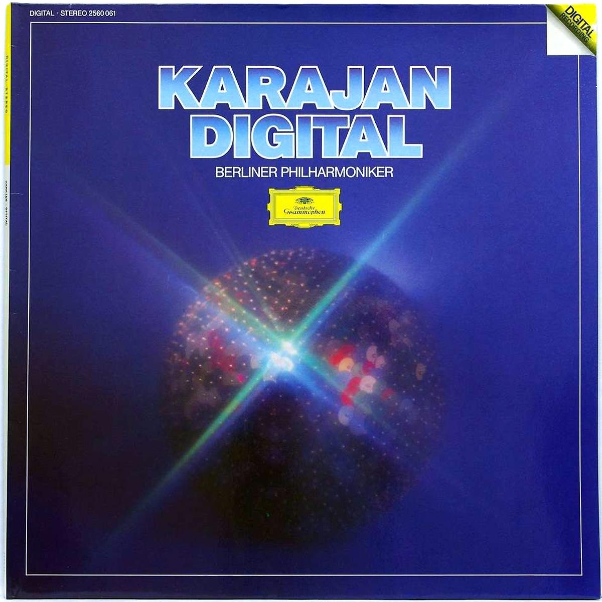 DGG 2560061 Holst Mozart Offenbach Prokofiev Strauss Karajan DGG Digital Aufnahme