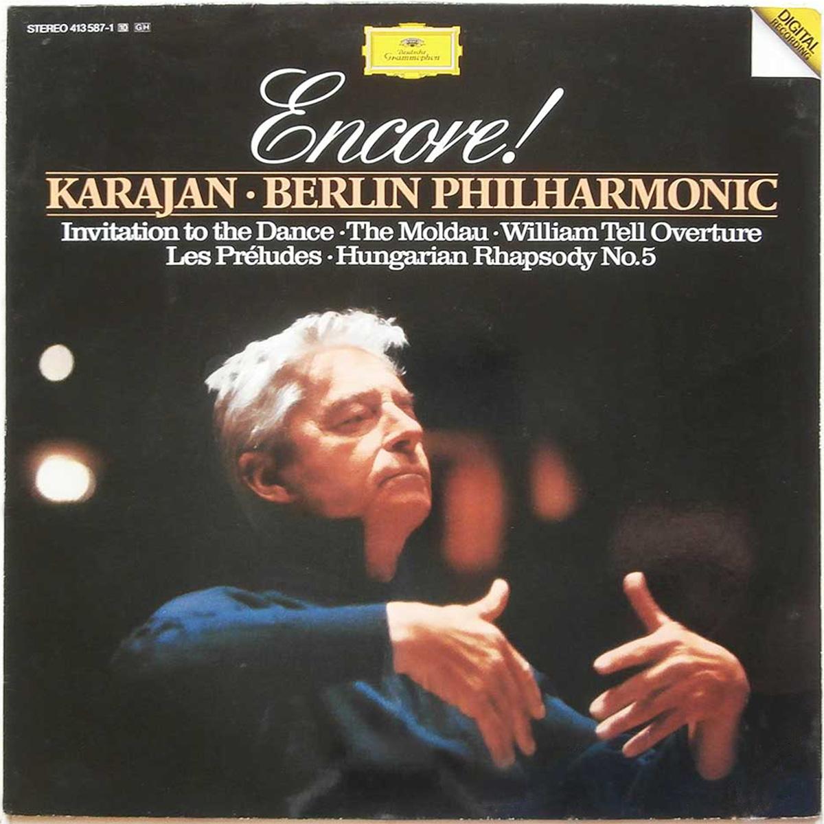 DGG 413 587 Encore Karajan DGG Digital Aufnahme