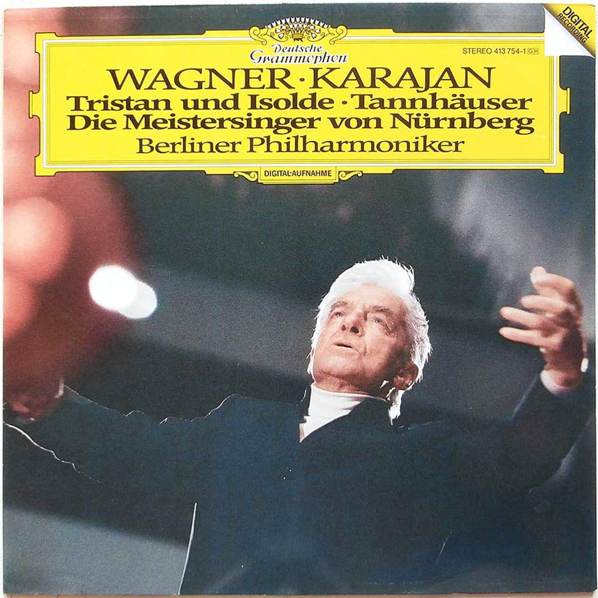 DGG 413 754 Wagner Tristan Und Isolde Tannhauser Meistersingers Karajan DGG Digital Aufnahme