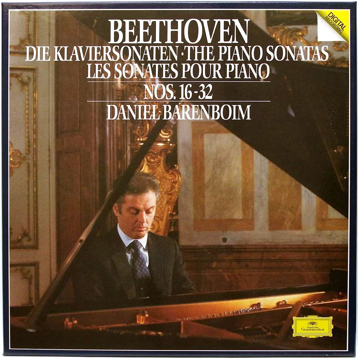 DGG 413766 Beethoven Sonates 16 à 32 Barenboim DGG Digital Aufnahme
