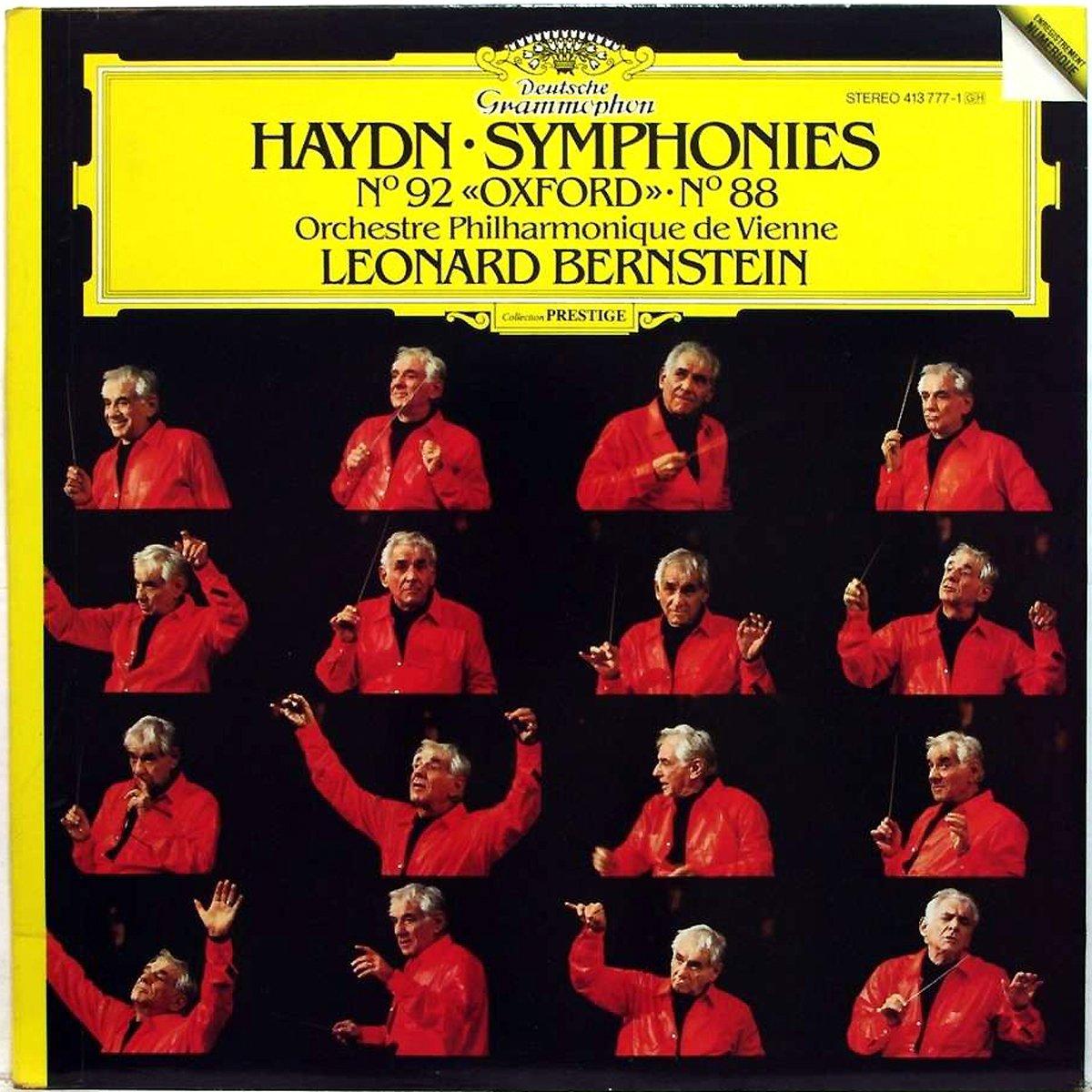 DGG 413777 Haydn Symphonies 92 88 Bernstein DGG Digital Aufnahme