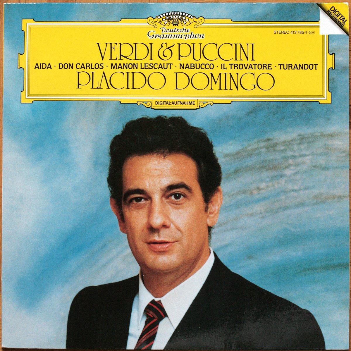 DGG 413 785 Verdi Airs Puccini Domingo DGG Digital Aufnahme