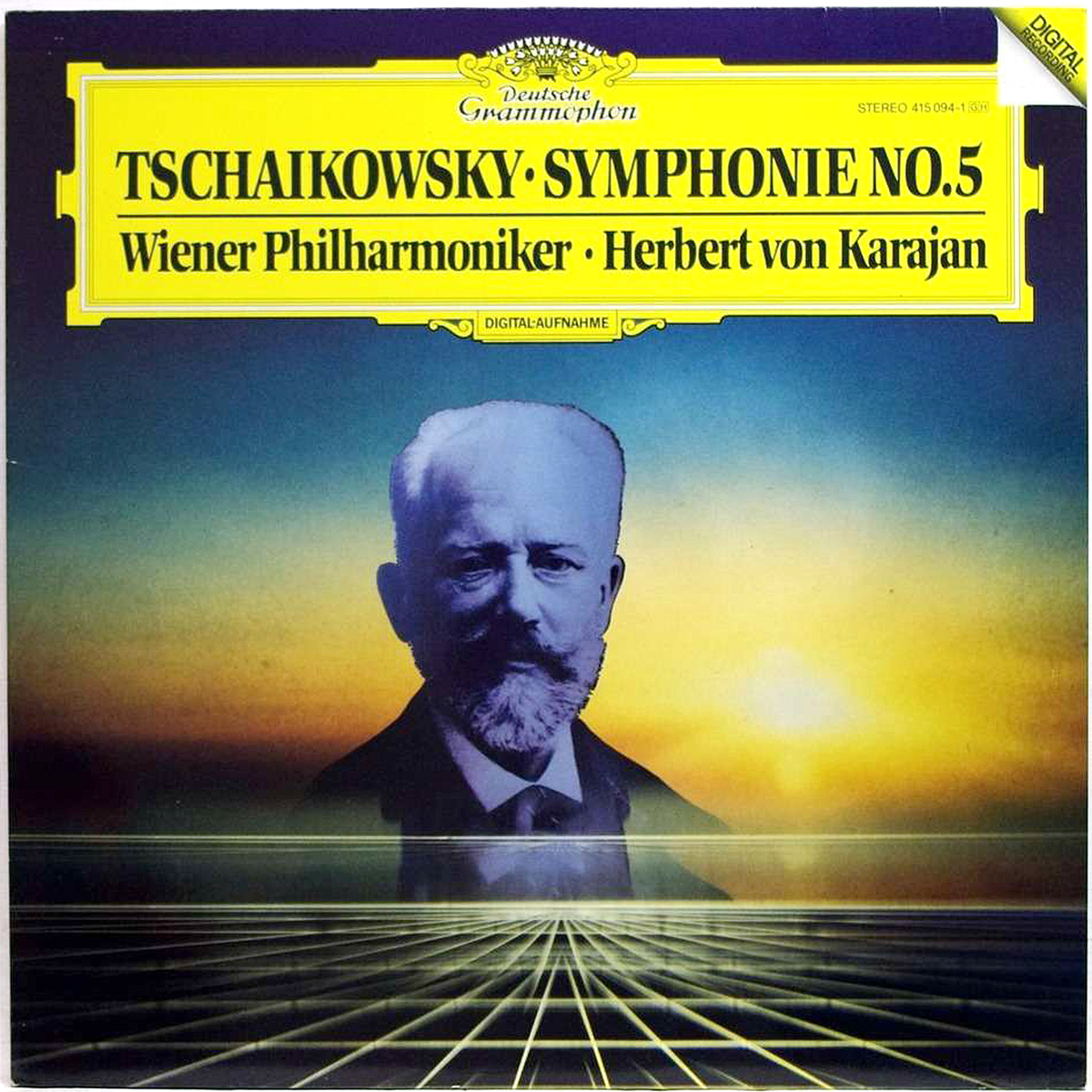 DGG 415094 Tchaikovsky Symphonie 5 Karajan DGG Digital Aufnahme