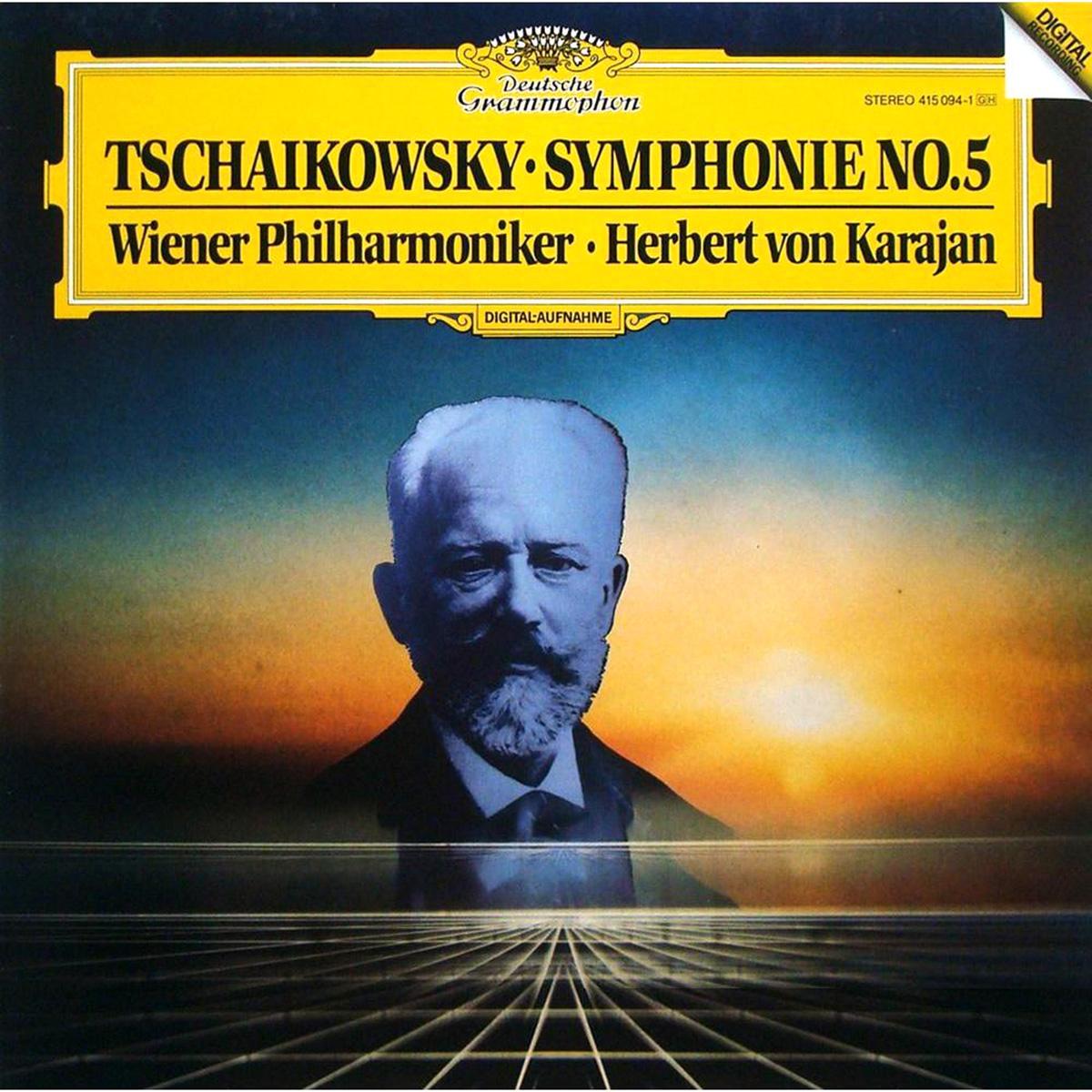 DGG 415095 Tchaikovsky Symphonie 6 Karajan DGG Digital Aufnahme