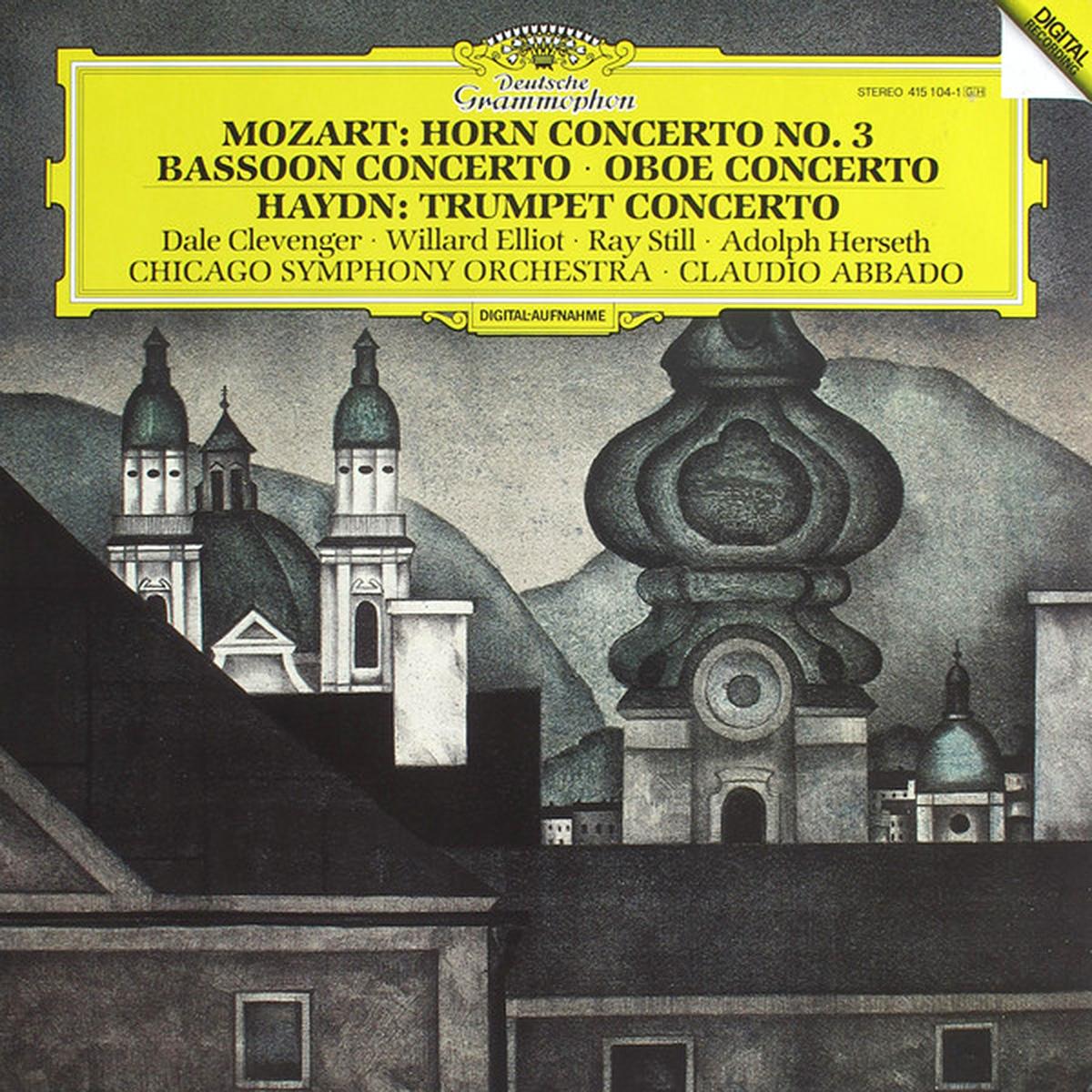 DGG 415104 Mozart Haydn Concertos Vents DGG Digital Aufnahme