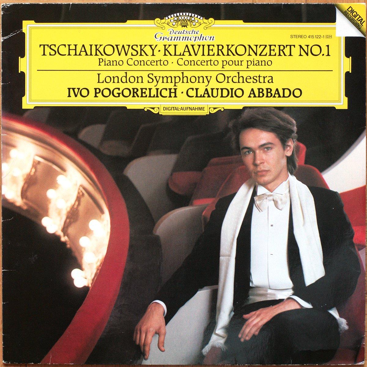 415 122 Tchaikovsky concerto Piano 1 Pogorelich Abbado DGG Digital Aufnahme