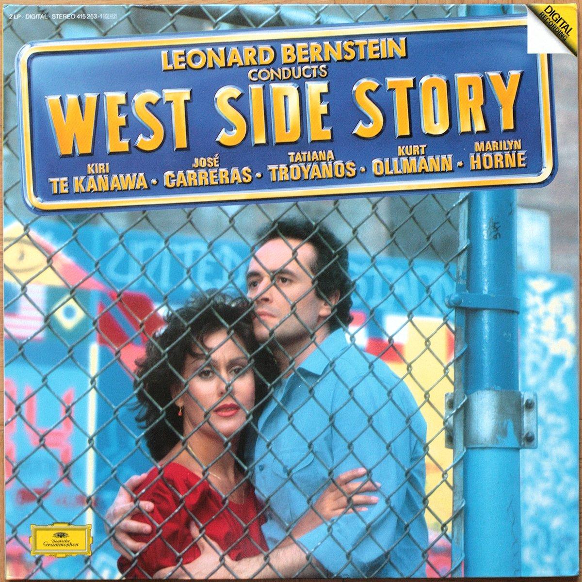 DGG 415 253 Bernstein West Side Story Bernstein DGG Digital Aufnahme