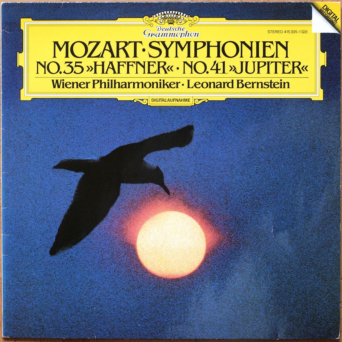 DGG 415 315 Mozart Symphonie 35 41 Bernstein DGG Digital Aufnahme