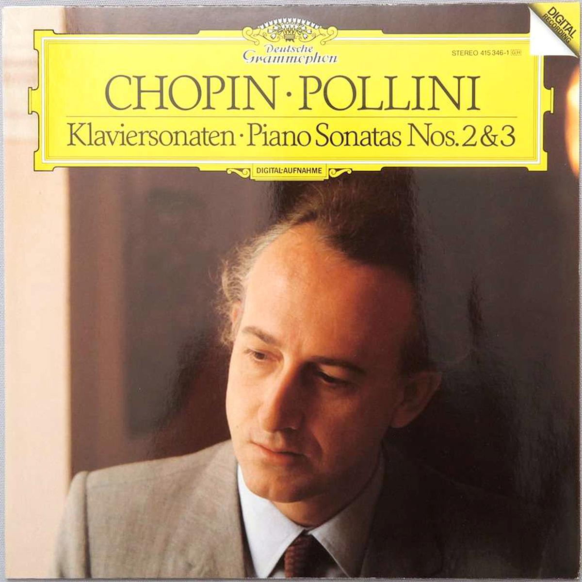 DGG 415 346 Chopin Sonates 2 & 3 Pollini DGG Digital Aufnahme