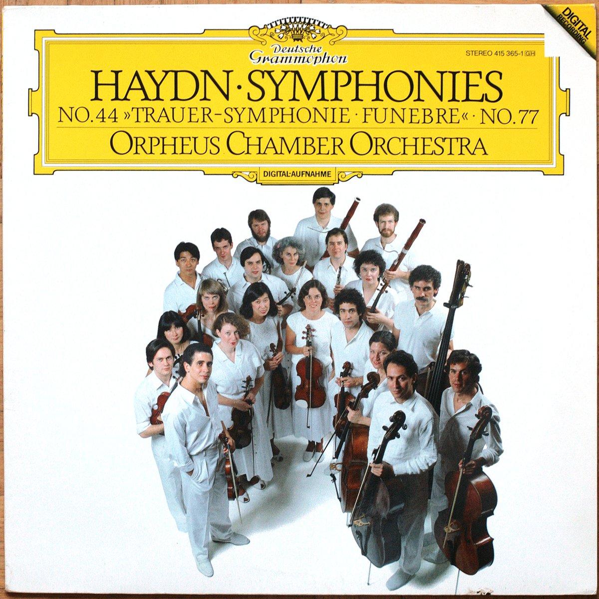 DGG 415 365 Haydn Symphonies 44 77 Orpheus Chamber Orchestra DGG Digital Aufnahme
